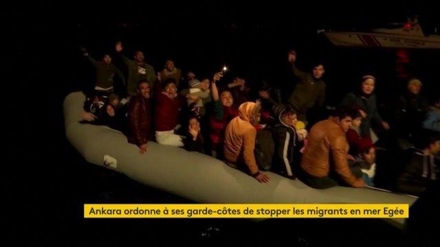 La Turquie demande de stopper les migrants en mer Égée