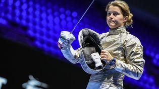 Cécilia Berder lors des championnats du monde 2019 à Budapest. (BIZZI TEAM)
