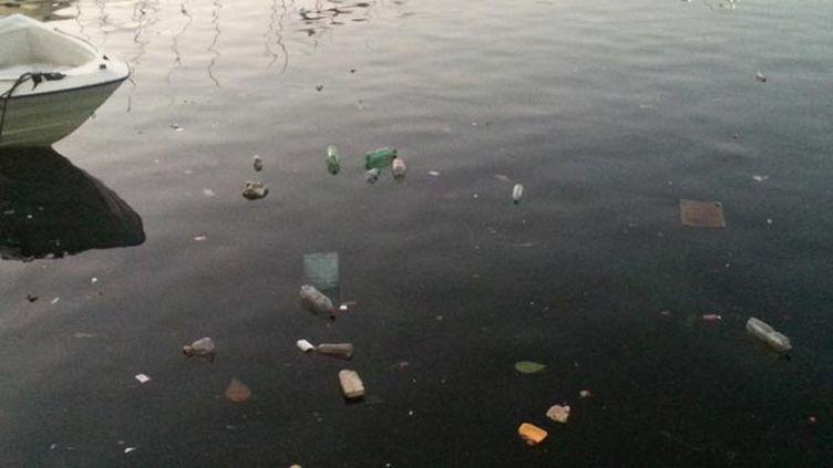 (Malgré les promesses, la baie de Rio est toujours polluée © RF/ Alice Serrano)