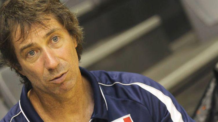 Le sélectionneur de l'équipe de France, Laurent Tillie