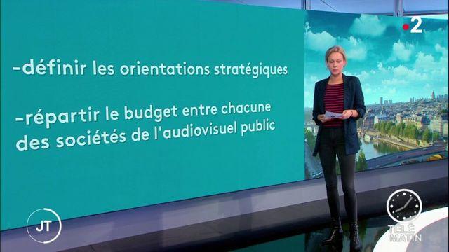 La holding France Médias va regrouper l'audiovisuel public