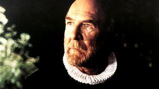 """L'acteur Jean-Pierre Marielle dans le film """"Tous les matins du monde"""", en 1991. (LUC ROUX / AFP)"""