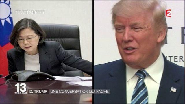 Trump téléphone à la la présidente taïwanaise et fâche Pékin