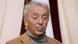 Le journaliste français Pierre Bouteiller, le 17 décembre 2013, à Paris. (PATRICK KOVARIK / AFP)