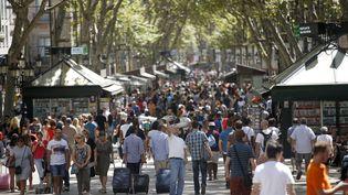 La Rambla de Barcelone est un haut lieu touristique de la cité catalane. (ALBERT GEA / REUTERS)