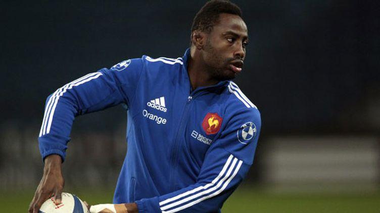 Le joueur du XV de France, Fulgence Ouedraogo