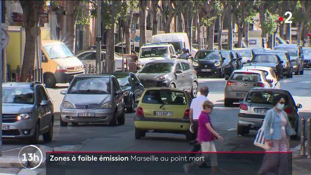 Marseille : la mise en place d'une zone à faibles émissions toujours au point mort