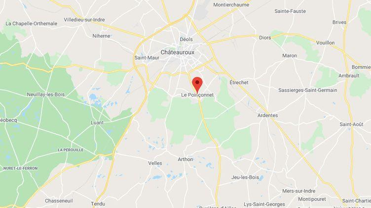 Le Poinçonnet (Indre) (GOOGLE MAPS)