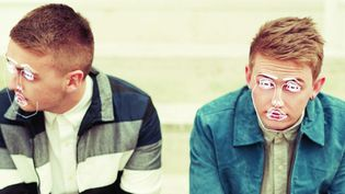 Les frères Guy et Howard Lawrence, alias Disclosure.  (DR)