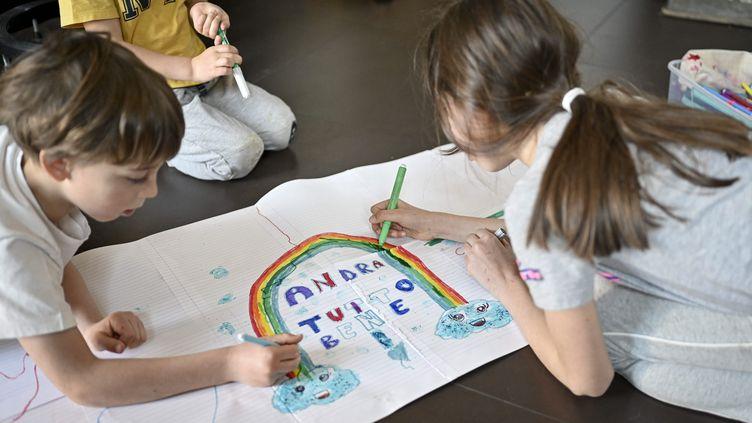 Les familles italiennes bénéficieront d'une allocation de 250 euros par mois pour chaque enfant jusqu'à ses 21 ans. Photo d'illustration (RICCARDO GIORDANO / IPA / MAXPPP)