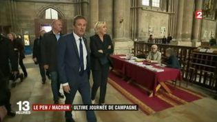 Le Pen/Macron: ultime journée de campagne (FRANCEINFO)