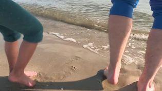 Vivre dans le sud peut réserver de merveilleuses journées ensoleillées les mois d'hiver. Certains ont décidé de passer leur week-end à la plage. (France 3)