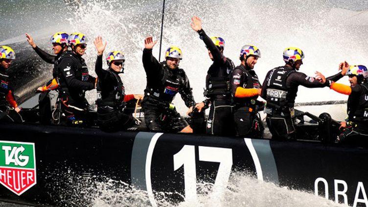 Oracle Team USA (JOSH EDELSON / AFP)