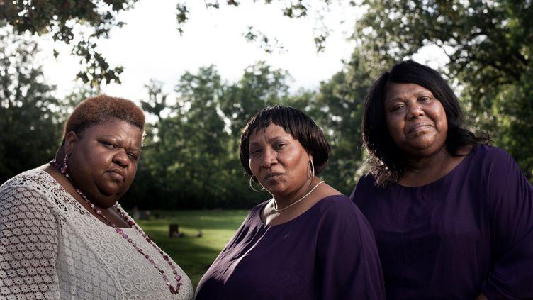 Le trio The Como Mamas :Angelia Taylor, Della Daniels et Ester Mae Wilbourn  (Aaron A. Greenhood)