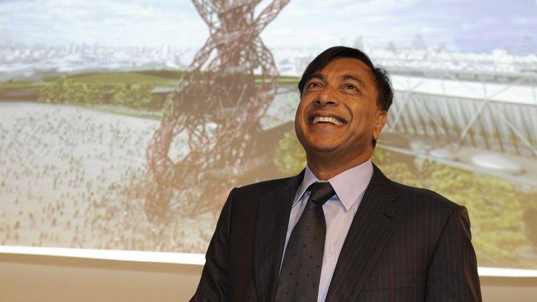 Lakshmi Mittal, patron du groupe Arcelor Mittal, le 10 mai 2011 au Luxembourg. (JEAN-CHRISTOPHE VERHAEGEN / AFP)