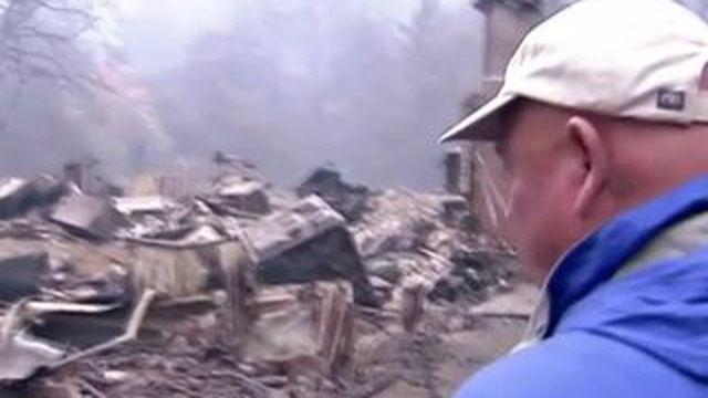 Les flammes ravagent le nord de la Californie