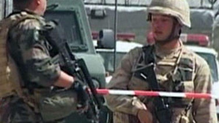 Attentat à Kaboul contre la base américaine de Camp Phoenix