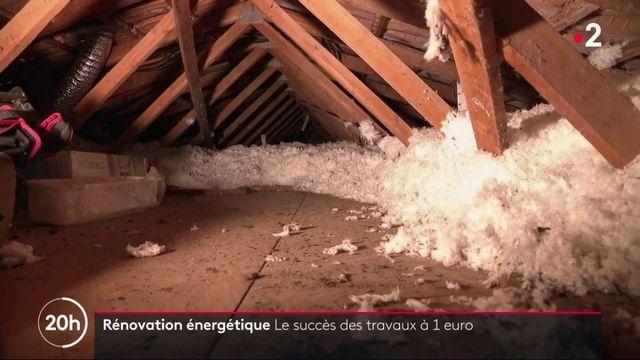 Rénovation énergétique : le succès des travaux à 1 euro