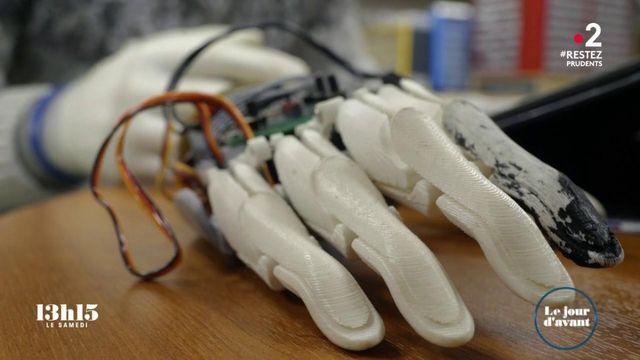 VIDEO. Une prothèse de main bionique vendue pas plus de 1 000 euros est l'un des projets de l'association My Human Kit