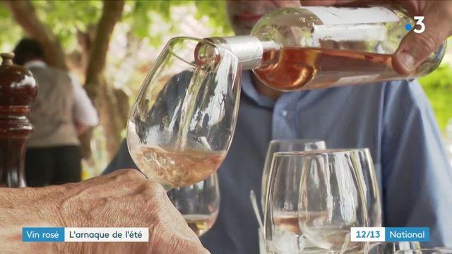 Vin rosé : l'arnaque de l'été