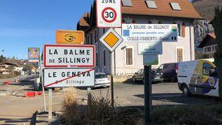 La Balme-de-Sillingy (Haute-Savoie), le 28 février 2020. (MAXIME PETIT / AFP)