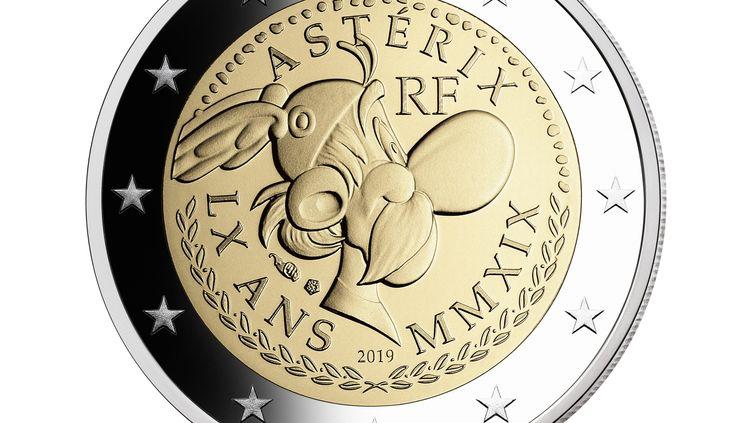 Une pièce de 2 euros à l'effigie d'Astérix (Monnaie de Paris)