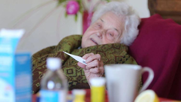 (Les personnes de plus de 65 ans sont les plus touchées par l'épidémie de grippe mortelle © MaxPPP)