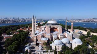 L'ancienne basilique Sainte-Sophie à Istanbul en Turquie, le 6 juillet 2020. (MURAD SEZER / REUTERS)