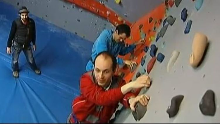 capture d'écran - Deux autistes de Tarbes en pleine ascension - mars 2013 (FRANCETV INFO / FRANCE 2)