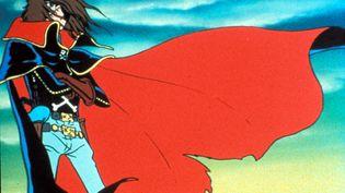 Le capitaine Albator tel qu'il apparaît dans l'anime diffusé dans Récré A2 au début des années 80. (ARCHIVES DU 7EME ART / AFP)