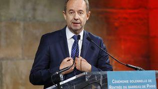 Jean-Jacques Urvoas, le 25 novembre 2015. (PATRICK KOVARIK / AFP)
