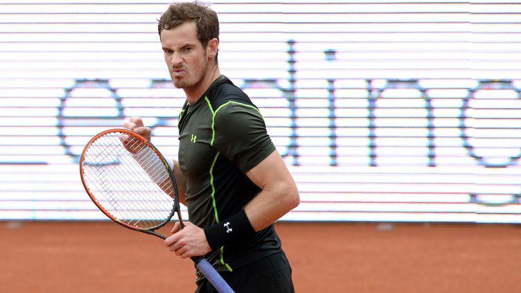Andy Murray remporté un match houleux contre Lukas Rosol  (CHRISTOF STACHE / AFP)