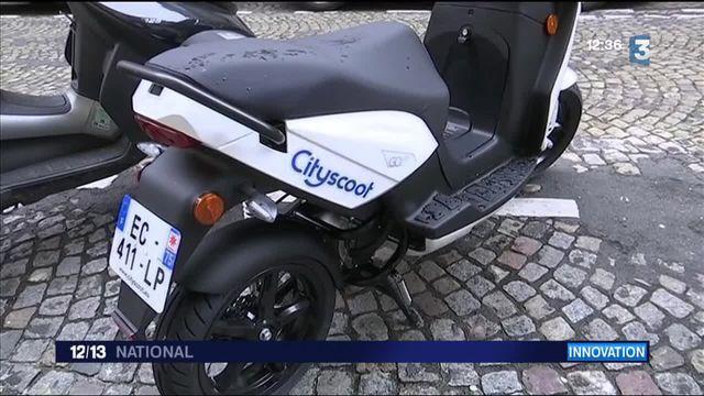 Paris : 150 scooters électriques disponibles en libre-service
