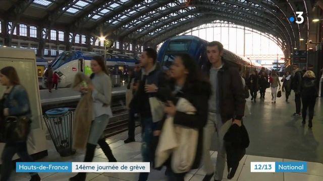 Grève à la SNCF : les liaisons entre Lille et Paris perturbées