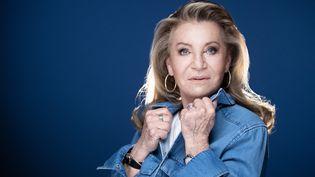 La chanteuse Sheila, le 27 avril 2021. (JOEL SAGET / AFP)