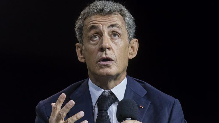 Nicolas Sarkozy, le 16 septembre 2020. (VINCENT ISORE / MAXPPP)