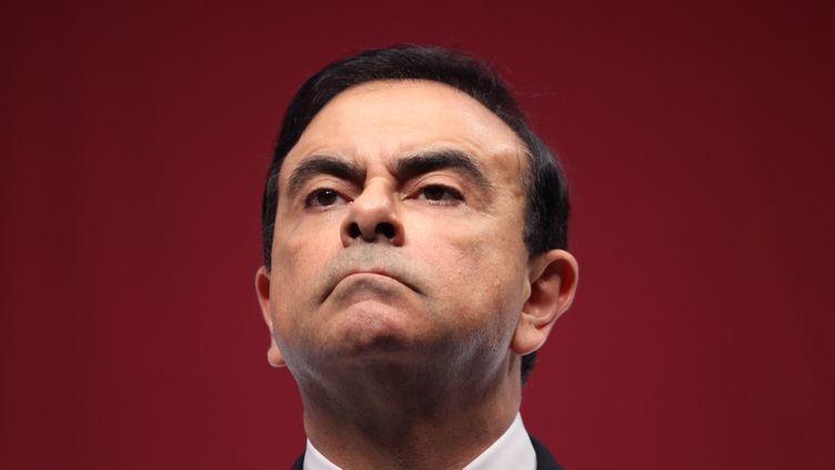 Carlos Ghosn a fait valoir ses droits à la retraite et devrait toucher 765 000 euros par an. (KOICHI KAMOSHIDA / EPA)