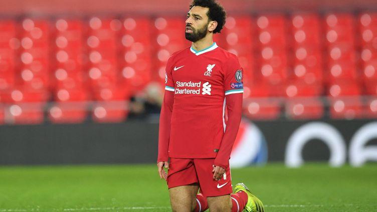 Mohamed Salah pourrait jouer la Super Ligue avec Liverpool (PAUL ELLIS / AFP)
