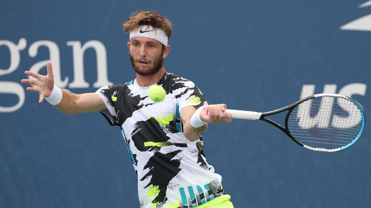 Le Français Corentin Moutet à l'US Open (AL BELLO / GETTY IMAGES NORTH AMERICA)