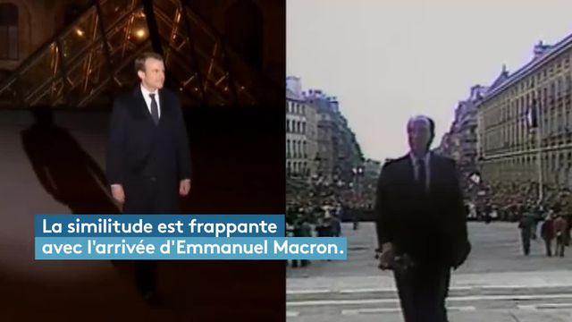 Emmanuel Macron au Louvre Comme un petit air mitterrandien