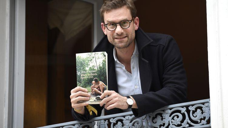Nicolas Mathieu, à Paris, le 7 novembre 2018. (ERIC FEFERBERG / AFP)