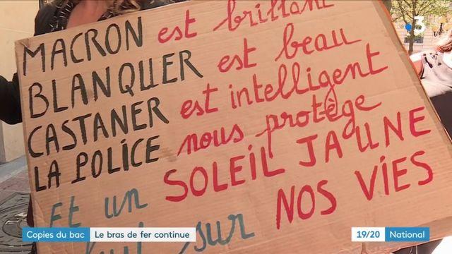 Baccalauréat : Jean-Michel Blanquer promet que la grève des enseignants ne perturbera pas la publication des résultats