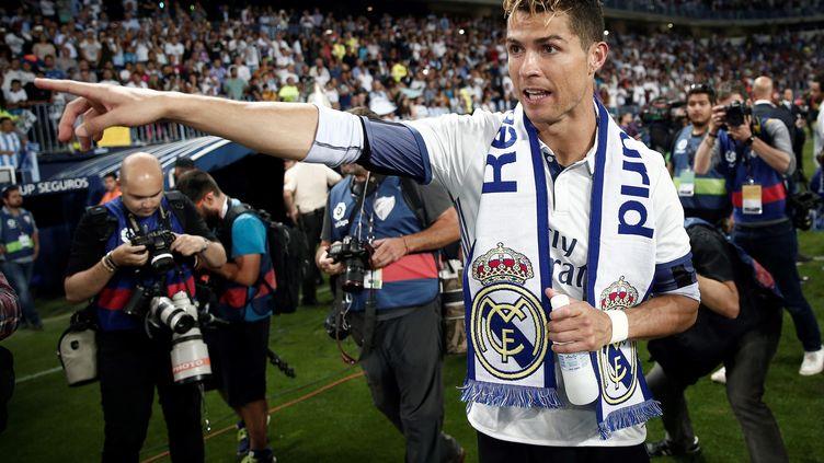 Le joueur portugais Cristiano Ronaldo (BURAK AKBULUT / ANADOLU AGENCY)