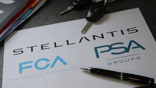 Le groupe PSA et Fiat-Chrysler fusionnent. (JEAN-FRAN?OIS FREY / MAXPPP)