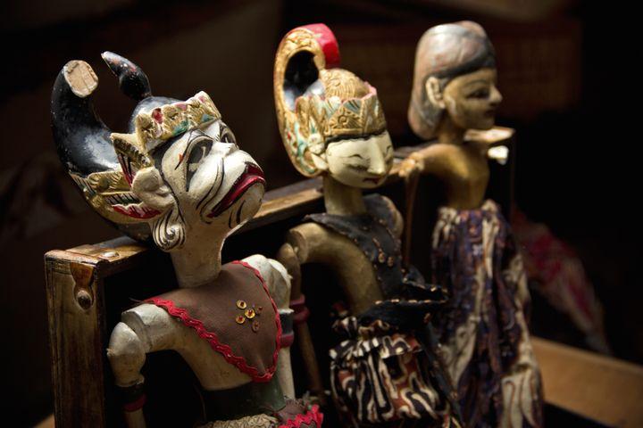 Marionnettes traditionnelles indiennes (@CC)