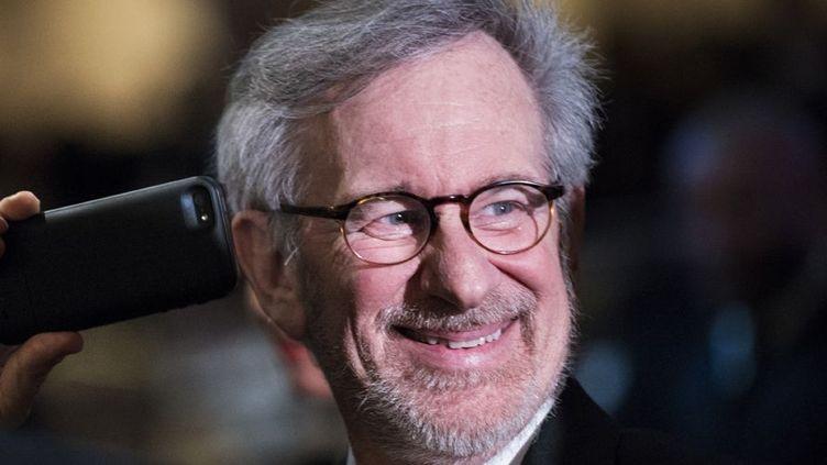 Steven Spielberg à Washington le 27 avril 2013, lors du dîner des correspondants à la Maison Blanche  (Brendan Smialowski / AFP)