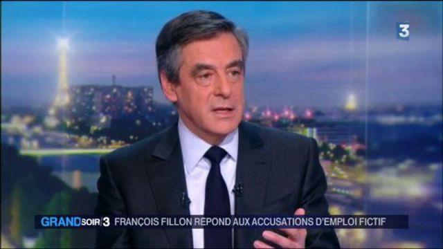 Emploi fictif : François Fillon répond aux accusations