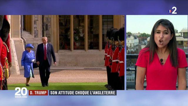 Royaume-Uni : l'attitude de Donald Trump choque les Britanniques