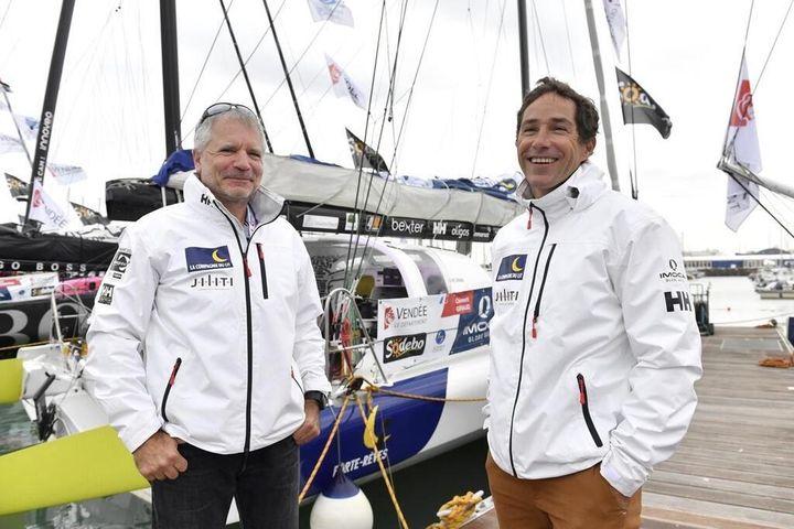 Clément Giraud et Erik Nigon