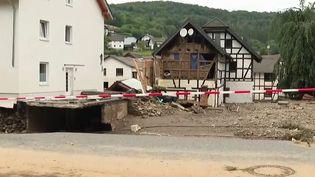 Allemagne : les inondations meurtrières ont dévasté la ville de Schuld (France 3)